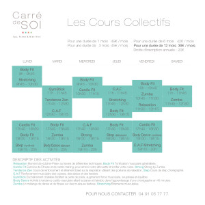 planning collectifs 2018